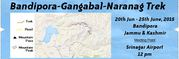 Bandipora-Gangabal-Naranag Trek | Buy Event Online Tickets