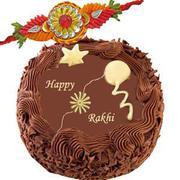 Send Rakhi Cakes to Ludhiana