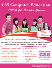 CSS Computer Education offers FREE Computer Courses