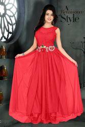 Shop Amazing Designer Evening Long Gown Online- MistyFabrics