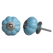 Knobs & Handles: Ceramic knobs: Ceramic solid colour Knob
