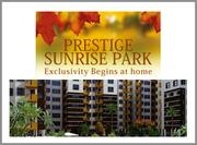 Prestige Sunrise Park banglore