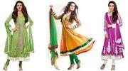 Designer Suits,  Anarkali Suits,  Salwar Kameez @ Online