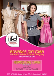 Fashion designing institute chandigarh - Admission open