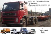 Delhi Kashmir Delhi Jammu Delhi Amritsar Truck Trailer Lorry Rentals