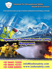 Diploma In Fire And Industrial Safety Through E-Learning