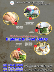 Diploma In Food Safety Through E-Learning