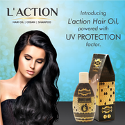 Laction Innovative Hair Oil with UV Protection !