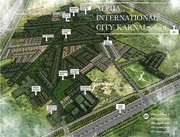 Independent plots in alpha international city A2