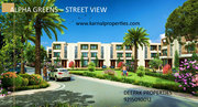 Independent villas in alpha international city AA