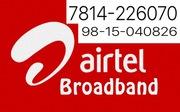 Airtel Broadband Chandigarh,  Mohali & Pkl  7814226070