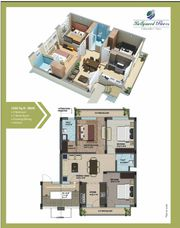 bollywood floor, 1260 sq.ft