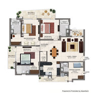 3bhk luxurious flats available for sale in zirakpur chandigarh