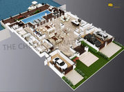 3D Floor Plan Design,  Interactive 3D isometric Studio.