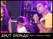 Amit Dhiman | best anchor | corporate ,  wedding ,  birthday - Delhi