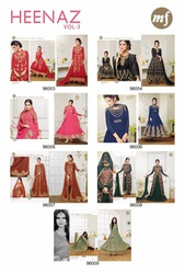 fox georgette salwar suit Salwar Kameez-  (Semi-Stitched) for ethnic w