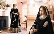 New Designer Banglori Silk Heavy Stylish Salwar Kameez,
