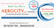 Best dels on Plots In Aerocity Road Moahli