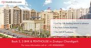 Book 2 and 3 BHK in Zirakpur get best offers