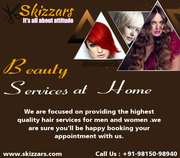 Beauty Services at Home in Chandigarh,  Mohali,  Panchkula