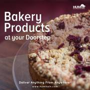 Bakery Products Delivery at Your Door Step by HUMhain