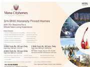 mona cityhomes 4 bedroom flats sector 115 mohali @9216925999