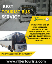 Best Tourist Bus Service in Himachal