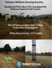Residential Plots Near PGI Chandigarh | Defence Imperial Golf Greens