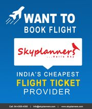 Book international flight ticket