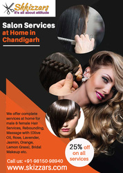 Salon Services at Home in Chandigarh