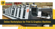 List Used Print & Graphics Machine for Sale at Machine Dalal