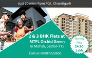 Special Offer on 2 & 3  BHK Flats for in Mohali