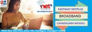 Fastway Netplus Broadband Chandigarh Mohali Zirakpur Kharar