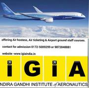 Airport ground-staff,  Airhostess training @Chandigarh