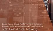 AZ-103: Microsoft Azure Administrator [Live Virtual] Training