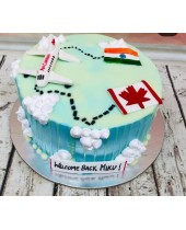 Send Online India to Canada Cake in Chandigarh,  Mohali