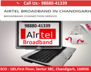 Airtel broadband service in Chandigarh, Mohali & panchkula in cities