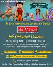 animation interior web graphic design institute in mangalore
