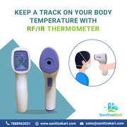 RF/IR Infrared Thermometers for Sale