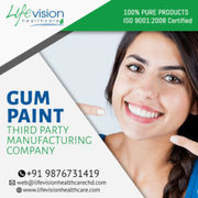 Gum Paint Third Party Manufacturing Company in India