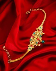 Buy Bajuband Design and Armlet at Best Price by Anuradha Art Jewellery