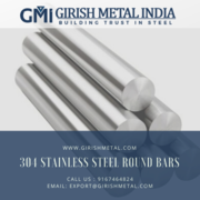 304 Stainless Steel Round Bars Manufacturer in India